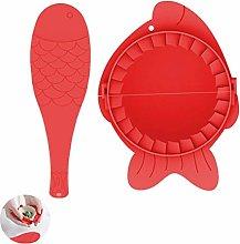 Ravioli Dumpling Maker Set, MKNZOME 2 Pcs Manual