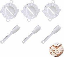Ravioli Dumpling Maker Set, MKNZOME 6 Pcs Manual