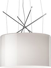 Ray S Pendant by Flos White/Grey