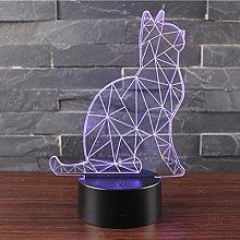 Ray-Velocity 3D Illusion Night Light LED Desk