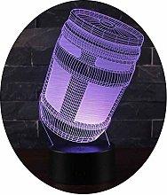Ray-velocity 3D Optical Illusion Night Light 7