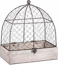 Rayher 46347000 Decorative Aviary, Vintage Bird