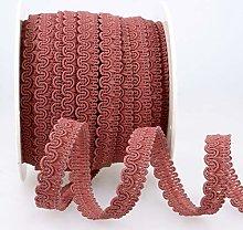 Rayon Braid Trim Pink - per metre
