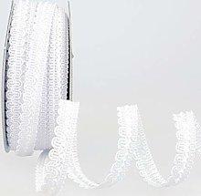 Rayon Braid Trim White - per metre
