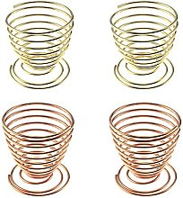 Rayong Egg Cups Set of 4, Egg Cups, Stainless