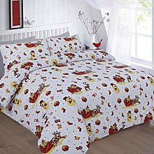 RAZ Christmas Xmas Duvet Cover Snowden UK Hot
