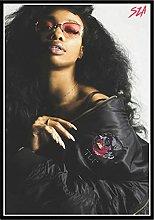 RCANLGZ Singer Star SZA Poster Rapper Hip Hop Rap