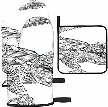 Rcdeey Crocodile Black And White Coloring Sketch