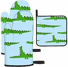 Rcdeey Crocodile Pattern Design With Several