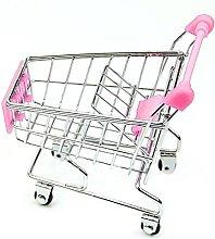 Rcool Mini Shopping Cart Toys Supermarket Handcart