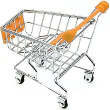 Rcool Mini Shopping Cart Toys Supermarket Handcart