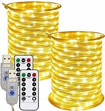 RcStarry 33FT/10m LED Rope String Lights 100 LEDs