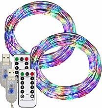 RcStarry 33FT/10m LED Wire String Lights 100 LEDs