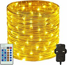 RcStarry 50M/165FT 500 LED Dia 3MM Rope/Wire
