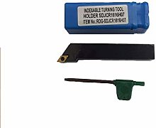 RDGTOOLS 16MM INDEXABLE Lathe Turning Tool DCMT07