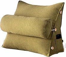 Reading Pillow,Adult Backrest Lounge Cushion -