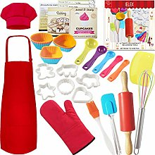 Real Kids Baking Set Pastry Cooking Kit Supplies