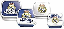 Real Madrid Set 4 Sandwich Maker in 1 Bento Lunch