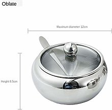 Realand 18/8 Stainless Steel Apple Sugar Bowl