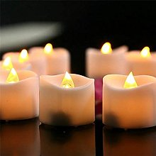 Realistic 240PCS/LOT operated LED Candles tealight