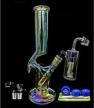 REANICE Oil Bong Glass Water Hookah 14mm Thick