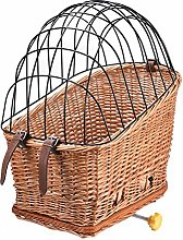 Rear Bike Basket Bicycle Wicker Basket Comfortable