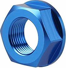 Rear Wheel Axle Shaft Lock Nut Screw Rim M20