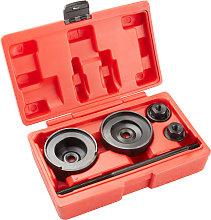 Rear wheel bearing puller tool set - red