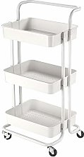 ReaseJoy 3 Tiers Rolling Utility Cart Mobile