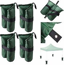 ReaseJoy 4 Pcs Gazebo Sandbag Weights Canopy Tent
