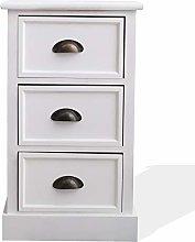 Rebecca Mobili Bedside Cabinet Home Storage Units