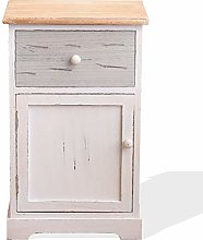 Rebecca Mobili Bedside Table Cabinet 1 Drawer 1