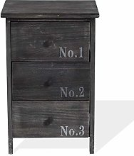 Rebecca Mobili Bedside table Cabinet Chest of