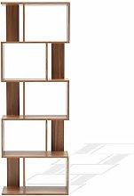 Rebecca Mobili Bookshelf Shelving Unit Wood Mdf 5