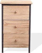 Rebecca Mobili Cabinet Bedside Furniture 3 Drawers