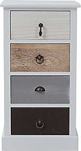 Rebecca Mobili Chest of drawers Bedside cabinet 4