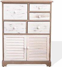 Rebecca Mobili Sideboard White Gray Cabinet