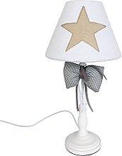 Rebecca Mobili Table Lamp Desk Lamp White Beige
