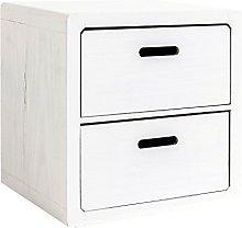 Rebecca Srl Cabinet bedside Furniture 2 Drawers