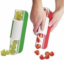 Rebeool4uk Fruit Slicer Cutter for Kids, Tomato