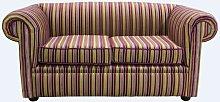 Reception Chesterfield Sofas | Buy striped velvet