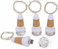 Rechargeable Colorful LED USB Diamond with Light