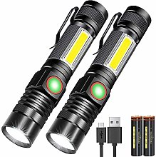 Rechargeable Flashlight, Magnetic