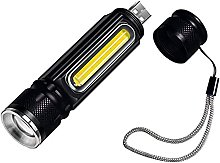 Rechargeable Powerful LED Torch Light, Flashlight