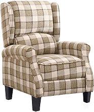 Recliner Chair Single Sofa Armchair Fabric
