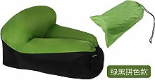 Recliner Fast Inflatable Lounger Sofa Bed Camping