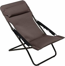 Reclining Folding Beach Chair Lafuma