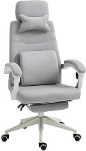 Reclining Office Chair Gaming Chair with Footrest