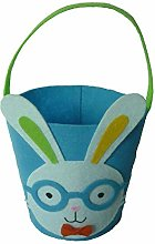 RecoverLOVE Easter Bunny Basket Bags, Kids Easter