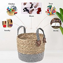 RecoverLOVE Small Woven Cotton Rope Storage